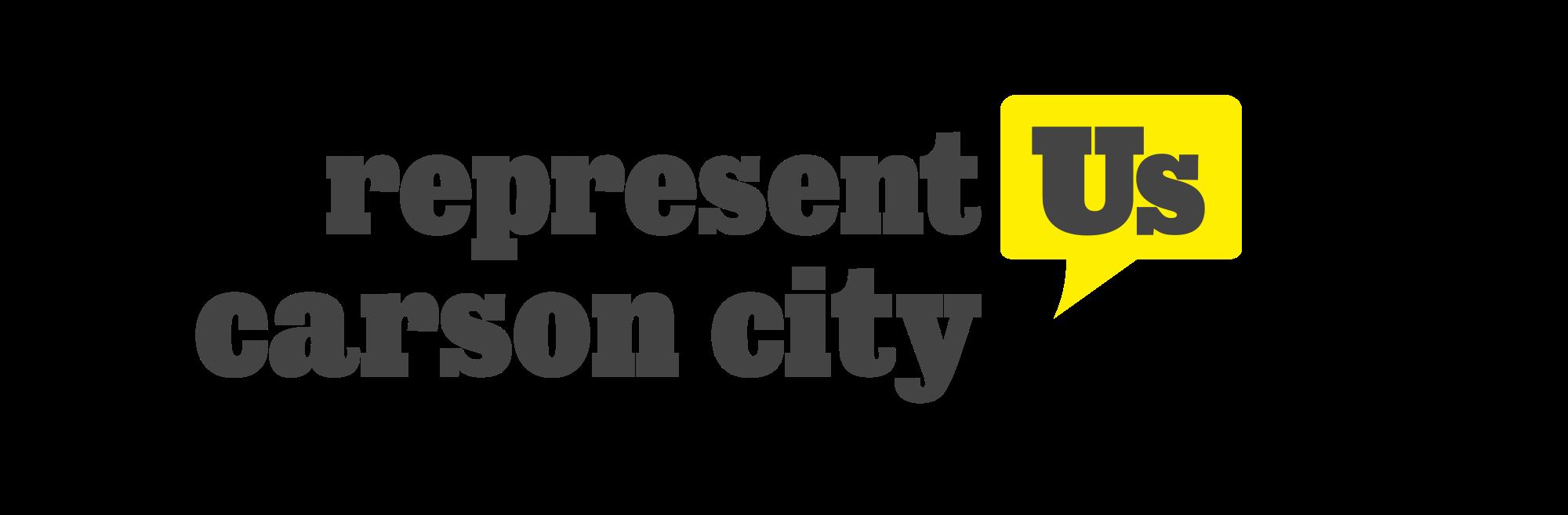 Represent Carson City Logo